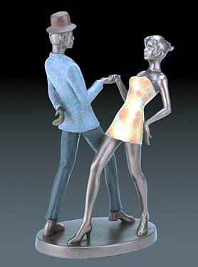 Swing Figurine